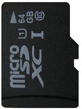 64 Go Micro SD XC Carte CLASS 10 pour galaxy s3 s4 s5 s8 s7 s9 Mini Edge Neo