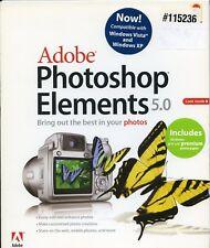 Adobe photoshop elements 5.0 Boxed