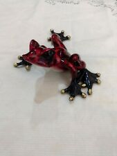 Barry Stein Bronze Frog Figurine 205/1000