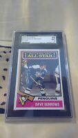 1974 TOPPS HOCKEY #241 DAVE BURROWS SGC 96 MINT 9