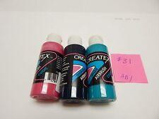 Createx Airbrush paint assortment #31 (2 oz. bottles)