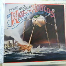 JEFF WAYNE 2XLP THE WAR OF THE WORLDS 1978 UK VG++/EX BOOKLET