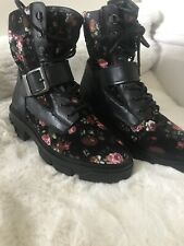 Topshop Boots Footwear BNWT Floral SOLD OUT size uk 6 Ladies Stunning