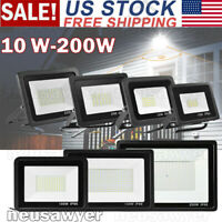 10W-200W LED Flood Light Outdoor Garden Lamp Yard Security Landscape Spotlight