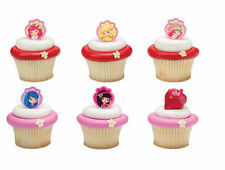 Strawberry Shortcake Friends cupcake rings (24) party favor cake topper 2 dozen