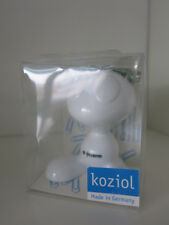 "Koziol ""Curly"" Paper Clip Dispenser - White -  BNIB"