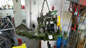 Morris Minor engine Complete A Series Reconditioned unleaded Engine **fitted**