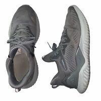 Adidas AlphaBounce Beyond Men's Grey Running Shoes 11.5 CG4765 Continental Tread