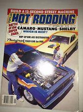 Popular Hot Rodding Magazine Camaro Mustang Shelby September 1983 032517NONRH