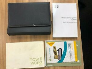 Honda Civic 5 Door 2001-2005 Owners Manual Bookpack Wallet Book Pack