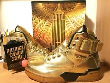 "Ewing x Packer Shoes ""War & Fame"" pack Gold size 8"