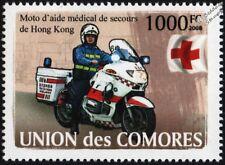 BMW Emergency Medical Assistance Motorcycle (EMAMAC) Hong Kong Motorbike Stamp
