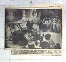 1950 Clash Between German Police And Jewish Demonstrators In Munich