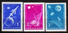 Bulgarien 1388-90 **, Mondsonden-Weltraum