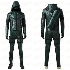 Green Arrow Season 5 Oliver Queen Cosplay Costume Custom-Made Superhero Costume