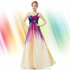 Chiffon Formal Multi-Colored Dresses for Women