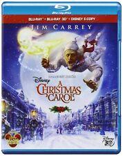 Disneys Eine Weihnachtsgeschichte [Blu-ray] in 3D -  It.Version - NEU in Folie