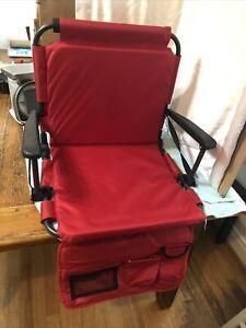 Four Seasons OC306S-TV01 Padded Stadium Seat RED!