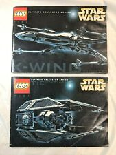 LEGO INSTRUCTIONS ONLY 7191 X-Wing & 7181 TIE Interceptor Ultimate Series SAEE01