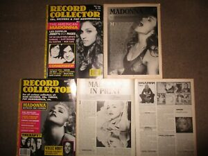 UK Madonna Magazine Covers Clippings