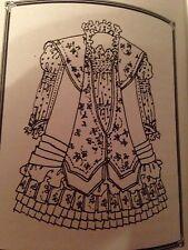 "Antique  French 20""  Bebe  Bru Jne 14 Costume Pattern 17 p. New"
