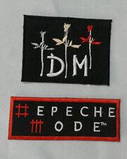 Patch / Ecusson depeche mode DM lot de 2