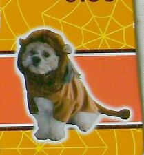 "Spooky Village Halloween Pet Dog Costume 11"" Small Lion New"