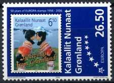 Greenland 2006 SG#496, 50th Anniv Of Europa Stamps MNH #D81738