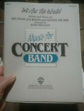 We Are The World Concert Band Music