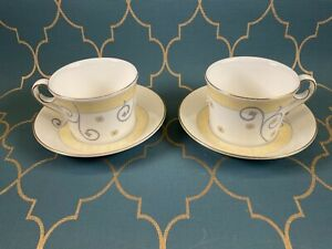 2x Wedgwood Time For Wedgwood Tea Cup and Saucer