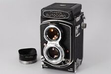 Exc++++ Minolta Autocord TLR Camera w/ Rokkor 75mm f3.5 Lens from Japan a448
