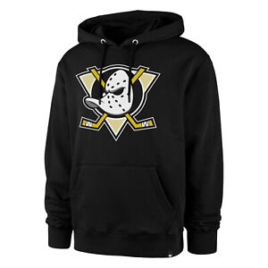 NHL Anaheim Mighty Ducks Hoody Imprint Helix Jumper Hooded Pullover Sweater