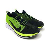 Nike Zoom Fly Flyknit BV6103-002 Black Volt White Men's Running Race Shoes 14