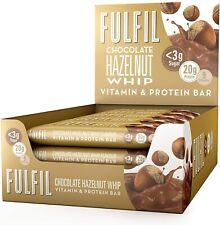 Fulfil Chocolate Hazelnut Whip Vitamin & Protein Chewy Bar 55g Box of 15