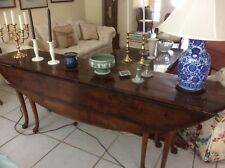 Mahogany antique hunt table made in Wales circa 1850, 82 niche long 30 inches hi