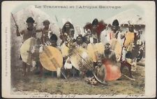 AX3671 Le Transvaal et l'Afrique Sauvage - Cartolina postale - 1901 Postcard
