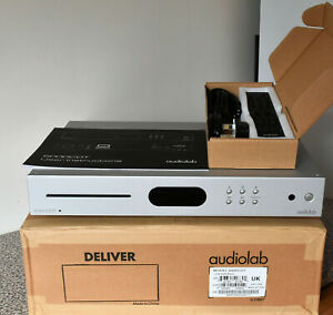 Audiolab 6000CDT CD Transport in Silver