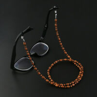 Fashion Eyeglasses Wood Bead Chain Sunglasses Neck Holder Chain
