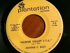 "JEANIE C. RILEY 45 RPM ""Harper Valley P.T.A."" ""Yesterday All Day Long Today"" VG"
