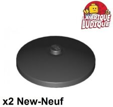3960-espace//Star Wars Neuf-LEGO 6 4x4 Rond Noir inversé radar dish