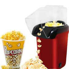 Popcorn Maker Electric Hot Air Oil Free Corn Popper Machine For Home Kitchen
