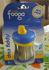 Thermos FOOGO Phases Stainless Steel Sippy Cup 7 Oz Insulated Toddler Kid Baby