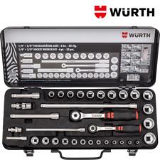 Chiavi a bussola 1/4 e 3/8 Set 35pz - Würth 096517 35