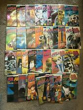 Viz Comics - Area 88 / UN Squadron Full US Set Issues 1 - 42 - Bagged & Boarded