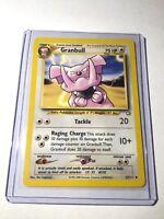 GRANBULL - Neo Genesis Set - 37/111 - Uncommon - Pokemon Card - Unlimited - NM