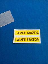 (Tr 18) DINKY TOYS 25 B PEUGEOT D3 LAMPE MAZDA - transfert / transfer