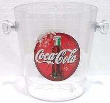 Coca-Cola - SECCHIELLO porta GHIACCIO - h 20,7 x 20 d.