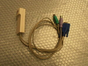 Lot câbles KVM