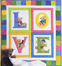 Love Bears - cute applique & pieced quilt PATTERN - Brandywine