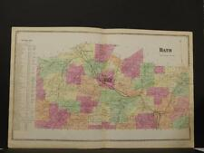 New York, Steuben County Map, 1873, Town of Bath, O6#34
